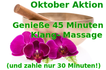 Massage in Bremen: Aktion und Gutscheine