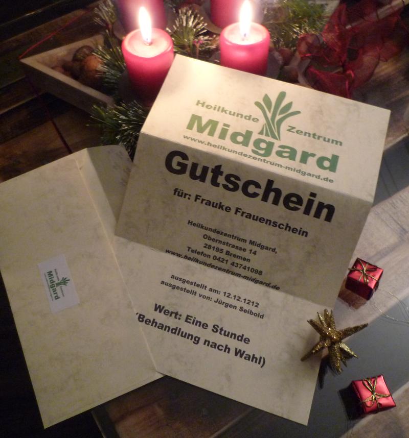 Massage Gutschein in Bremen