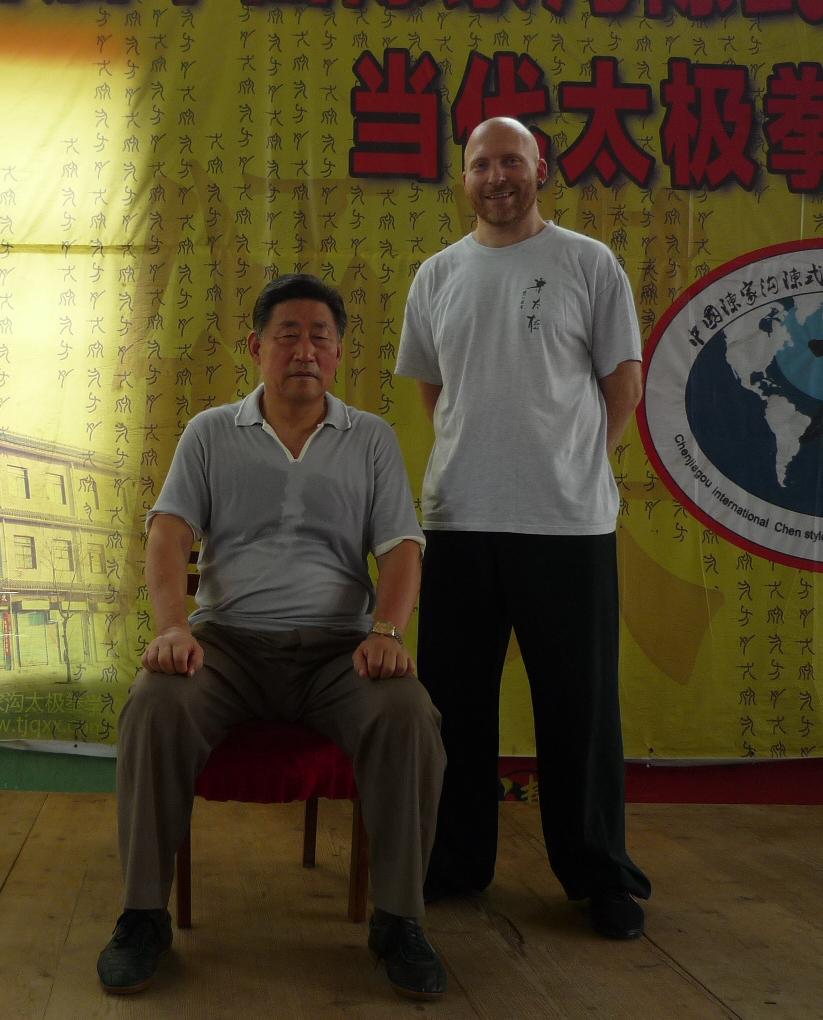 Heilpraktiker Seibold - Chen Taijiquan mit Chen Xiaowang