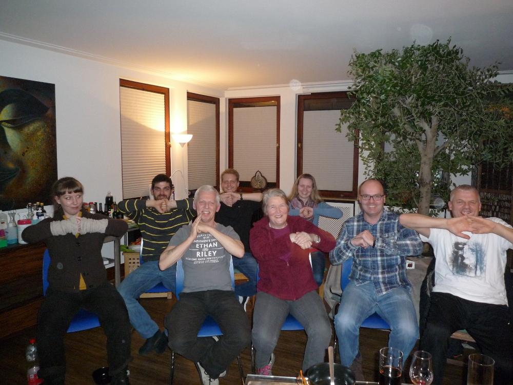 Treffen der Taiji - Gruppe im Heilkundezentrum Midgard in Bremen