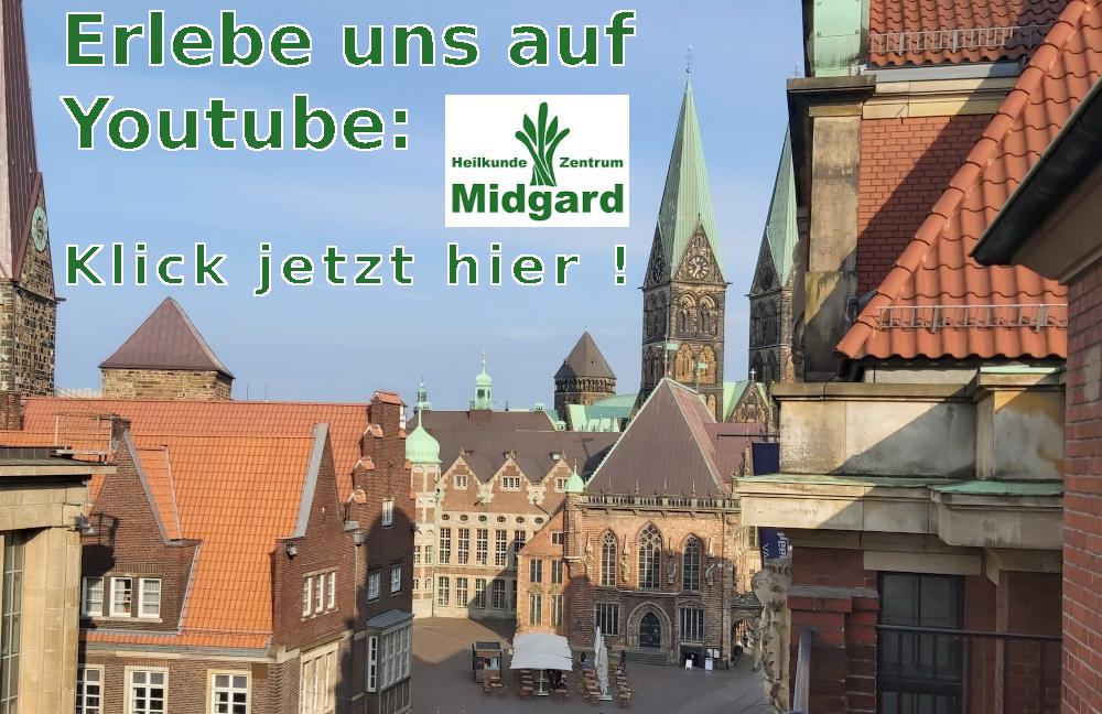 Heilpraktiker in Bremen: Heilkundezentrum Midgard auf Youtube