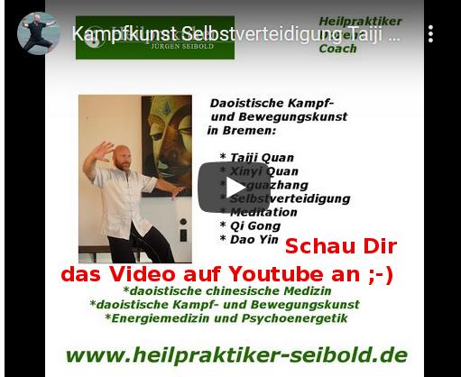 Chen Taijiquan - Tai Chi in in Bremen auf Youtube